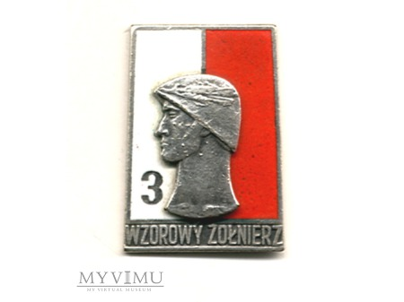 Duże zdjęcie Wzorowy Żołnierz Wojska Polskiego wz.1968 r.