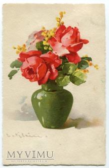 Catharina C. Klein kwiaty w wazonie Flowers