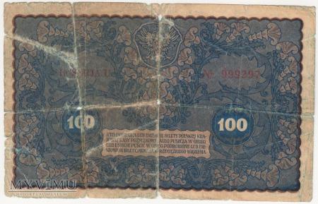 100 marek polskich 1919 rok