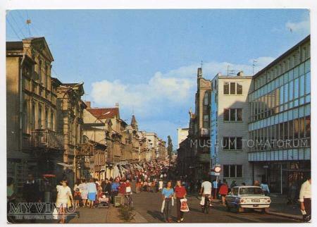 Wejherowo 1976 - Ulica Sobieskiego - deptak
