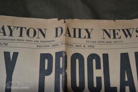 The Dayton Herald: V-E Day(1945)