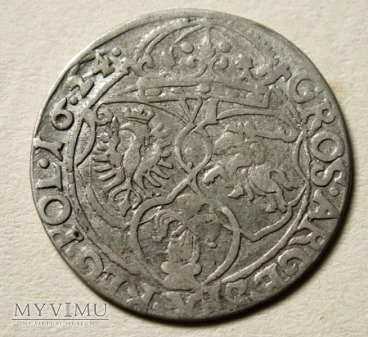 Szóstak mennica Kraków- 1624 r