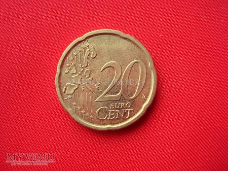 20 euro centów - Hiszpania