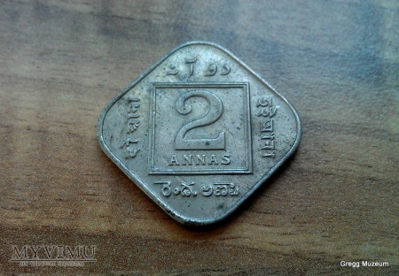 2 ANNA-INDIE BRYTYJSKIE 1918