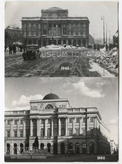 Warszawa - Pałac Staszica - 1946/1962