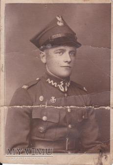 Zdjęcie żołnierza 56 Pułku Piechoty Wlkp.