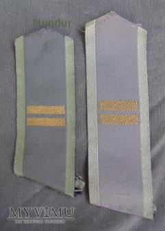 Szwecja - polowe oznaki stopnia: kapral