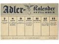 Strona z kalendarza Luftwaffe