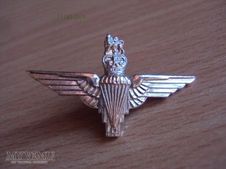 Brytyjska odznaka spadochronowa