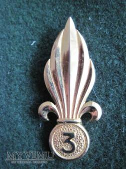 Odznaka beret 3REI/Algieria