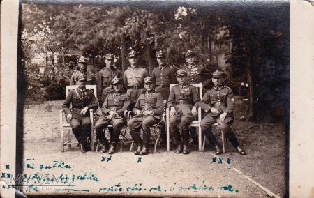 Fotografia oficerów 56 Pułku Piechoty Wielkopolski