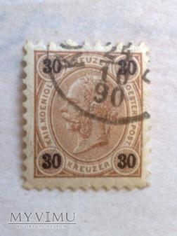 Franz-Joseph 1890 30 Krajcar austro-węgierski