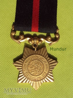 Medal Pakistański SITARA-I-HARAB (1965 WAR)