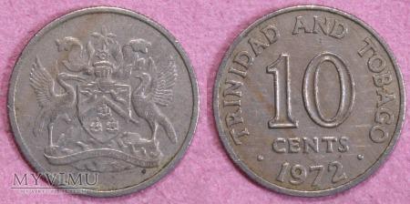 Trynidad i Tobago, 10 CENTS 1972