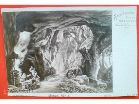Duże zdjęcie Richard Wagner Pierścień Nibelunga Mime Siegfried