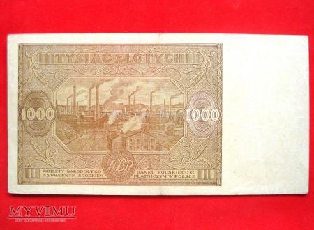 1000 złotych 1946 rok