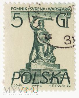 Polska - Syrena 5gr