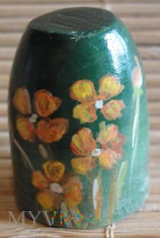 drewniany kwiaty