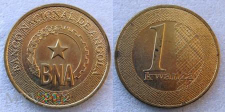 Angola, 1 Kwanza 2012