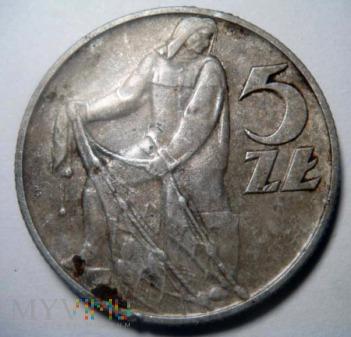 5 zł 1959, Rybak