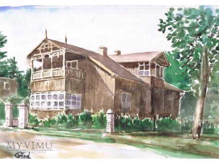 Otwock - architektura drewniana