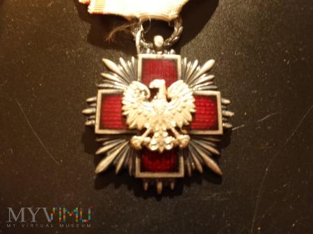 Medal Odznaka Honorowa PCK - srebrny
