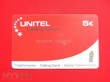 Karta telefoniczna UNITEL