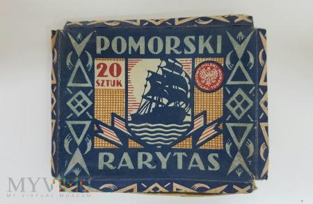 Papierosy POMORSKI RARYTAS PMT - pudełko 1933 r.