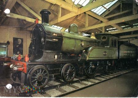 Lokomotywa nr 1621 z 1893 r.