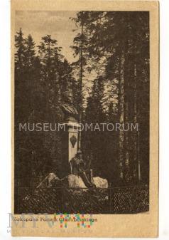Zakopane 1950 - pomnik Chałbińskiego