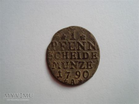 1 Pfenn 1790r.