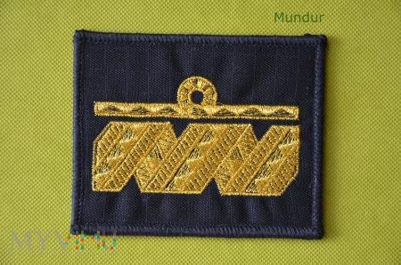 Oznaka stopnia MW - kontradmirał