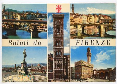 Firenze - Pozdrowienia - lata 80-te XX w.