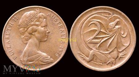 Australia, 2 centy 1975