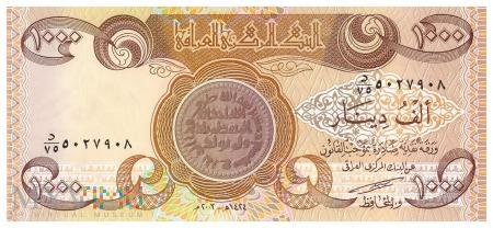 Irak - 1 000 dinarów (2003)