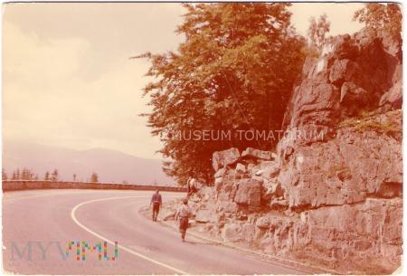 Karkonosze - Zakręt śmierci - rok 1973
