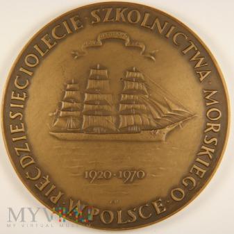 1970 - 33/70 Br - 50 lecie Szkolnictwa Morskiego