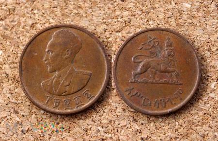 Etiopia, 10 Cent 1944