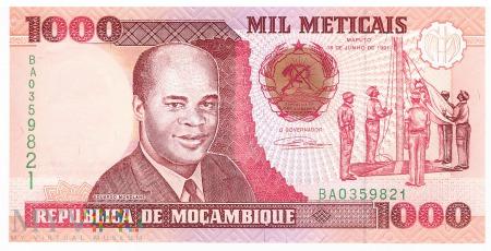Mozambik - 1 000 meticali (1991)