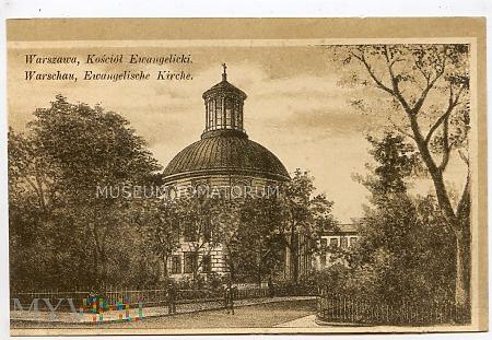 W-wa - Kościół ewangelicko-augsburski - 1915