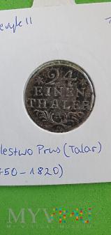 """Duże zdjęcie Prusy 1/24 talara, 1783 """"*"""""""