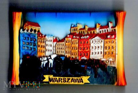 Duże zdjęcie Magnes z dorożkami w Warszawie