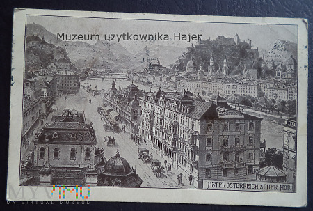 Austria - Hotel Österreichischer Hof Slazburg