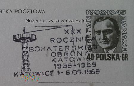 XXX Rocznica Bohaterskiej Obrony Katowic 1939