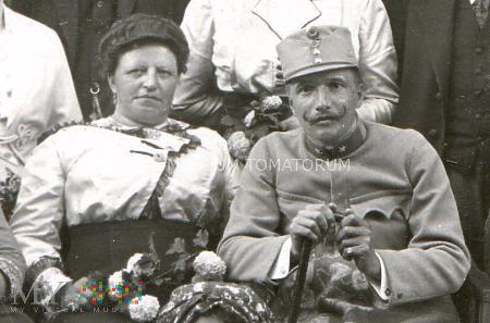 Grupowe zdjęcie rodzinne - rocznica, 1915