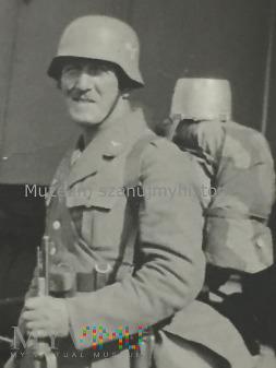 Żołnierz Luftwaffe w Czechach