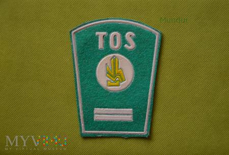 Dystynkcje TOS służba odkażania i dezaktywacji