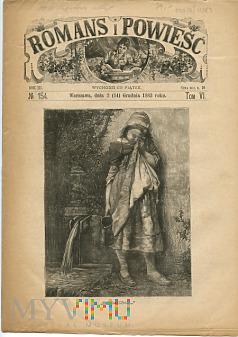 Duże zdjęcie Romans i Powieść - Nr 154, 2 grudnia 1883 roku
