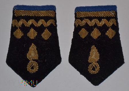Patki mundurowe służby mechanicznej PKP grupy 9