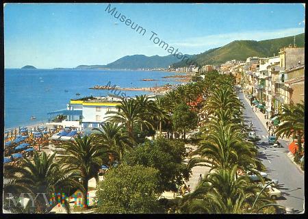 Loano - La Passeggiata - lata 70-te XX w.